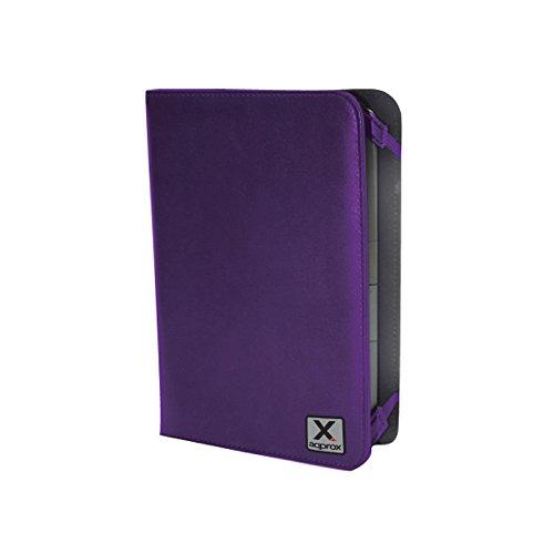 "Approx APPUEC01P - Funda Protectora para Tablet eBook 7"", Color púrpura"