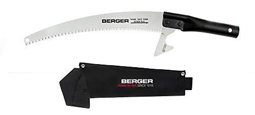 BERGER 63913 ArboRapid - N° 63912 Scie avec Etui, Noir/Argent, 55 x 16 x 3,5 cm