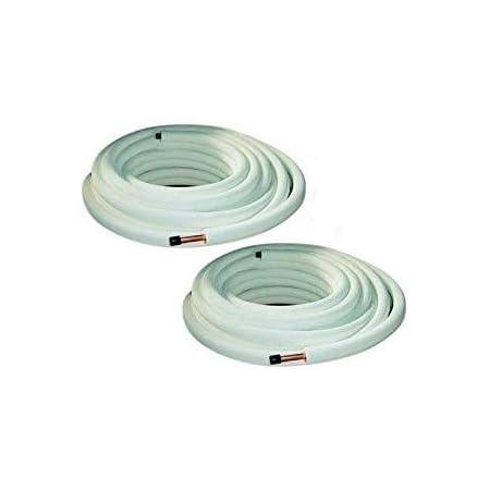 Lot de 3 raccords de tuyau isol/és en cuivre pour climatiseur 1//4 3//8