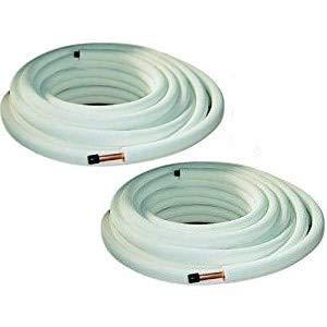 Tubi rame coppia 1/4' 3/8' - 10 mt - per condizionamento