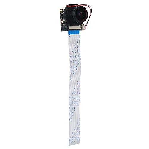 Tomanbery OV5647 Módulo de cámara Cámara multifunción portátil Módulo de cámara Corte de Infrarrojos de Alta sensibilidad -175 ° RPI Módulo de cámara Módulo de cámara de 5MP (sin luz)