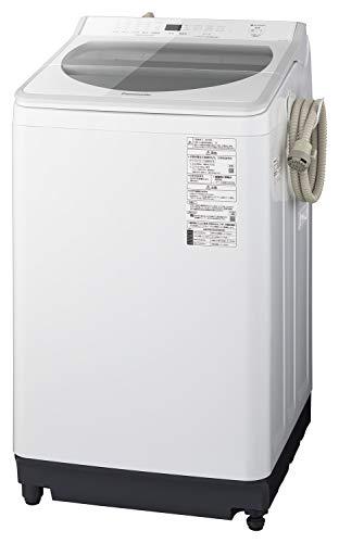 パナソニック 10kg 全自動洗濯機 泡洗浄・パワフル立体水流 ホワイト NA-FA100H7-W