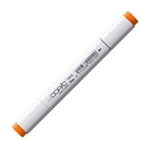 COPIC Classic Marker Typ YR - 16, Apricot, professioneller Layoutmarker, alkoholbasiert, mit einer breiten und einer feinen Spitze