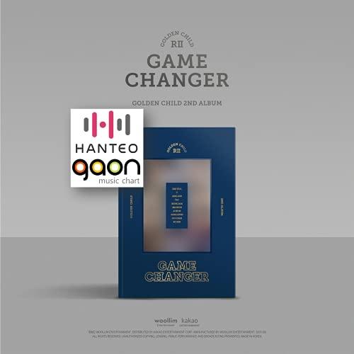 Golden Child - Game Changer (C ver.) (2nd Album) Album+BolsVos K-POP Webzine (9p), Decorative Stickers, Photocards