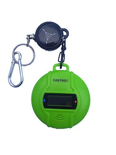 CASTROS Ultraschall Schädlingsbekämpfer | Mückenschutz mit ausziehbarem Schlüsselanhänger | mobiler Mücken- und Schädlingsvertreiber | Indoor & Outdoor Insektenabwehr