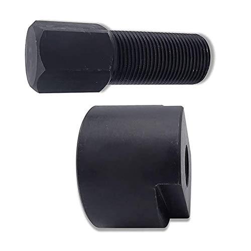 YIYU 1 Stück Schwungradabzieher Edelstahl schwarz für Polaris RZR 900 1000 XP 500 mm 1,5 Ranger Sportsman 570 14-18