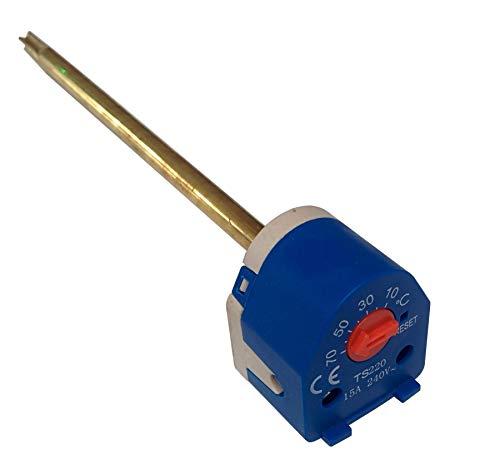 Duratherm 49020307 Einstellbarer Tauchsieder mit Thermostat von 17,8cm, 49020307