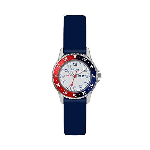 Tikkers Reloj Analógico para Niños de con Correa en Silicona ATK1040