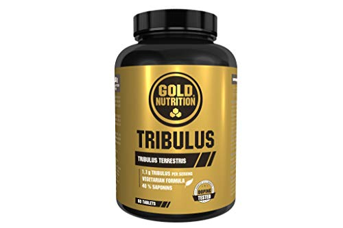 GoldNutrition Tribulus 550 mg - 60 Cápsulas