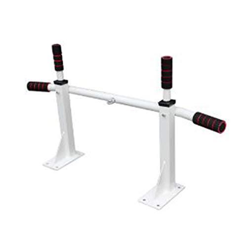 Verstellbare Klimmzugstange Pull Up Bar Gym Pull Up Sit Up Startseite Klimmzugbügel Stärke Körper Skulptur Fitness-Übungs-Stab Chin-Up for das Oberkörpertraining Multi-Grip Fitness Powerbar