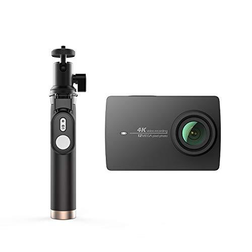 "ZYJANO Action Kamera Actionkamera Selfie Stick Bundle Internationale Version Ambarella Sportkamera 2.19\""LDC-Bildschirm WiFi Schwarz Weiß Rosa"
