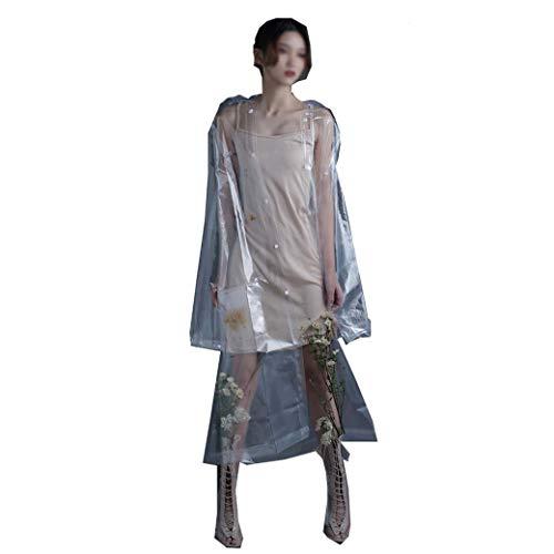 DongYuYuXuXi transparante regenjas lange full-body jas voor volwassenen wandverlenging stekker elektrische batterij auto poncho