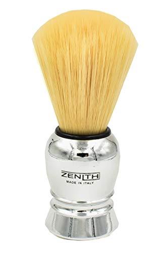Pennello da Barba Zẹnith 2000 Modello Manico Metallizzato 100% Sintetico