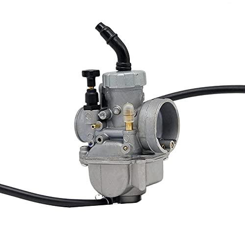 HLSP para 24 26 28mm PE24 PE26 PE28 Carburador Encaja en Scooter ATV Quad Dirt Bike Motorcycle Power Modificar y Reparar (Color : PE28 Automatic)