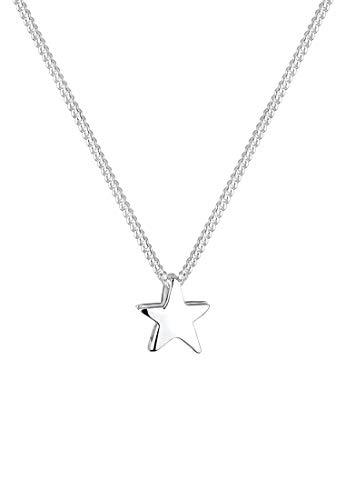 Elli Halskette Damen Stern Filigran Astro in 925 Sterling Silber