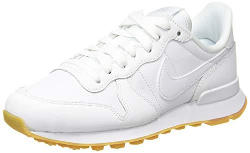 Nike Wmns Internationalist, Zapatillas de Running, Blanco (White/White/White 103), 35.5 EU