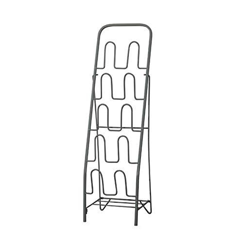 Scarpiera Facile da assemblare Space-Risparmio di scarpe da scarpe da scarpe da scarpe da ingresso Bagno Fresanding Rack for scarpe adatto for scarpe piatte e pantofole (oro / nero / bianco) Scarpiera