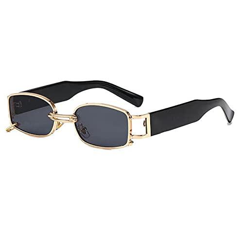 AMFG Gafas de sol de moda Use Pendientes Square Glasses Beach Viajes Viajes al aire libre Vive (Color : A)