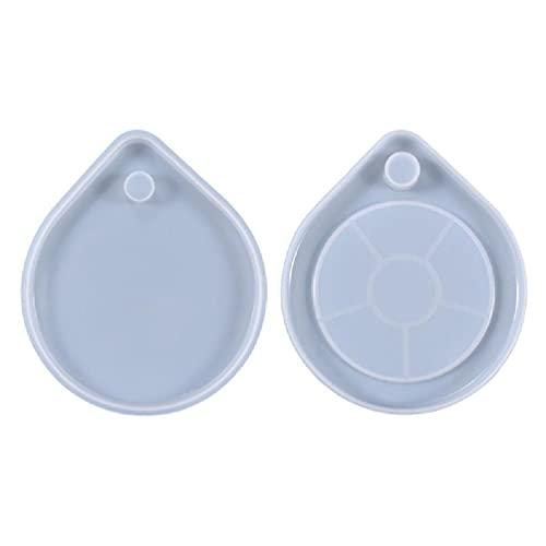 Molde de silicona para taza, antigoteos de agua, posavasos de resina epoxi, molde de silicona