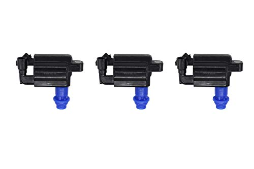NewYall Pack of 3 Ignition Spark Coils