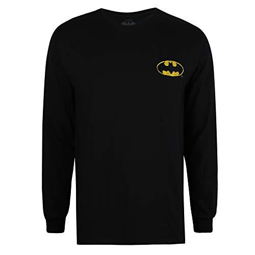 DC Comics Batman Core Long Sleeve tee Camiseta para Hombre