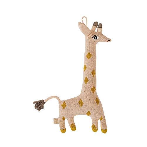 OyOy Mini Darling Cushion Baby Guggi Giraffe - Stofftier Süßes Baby Kinder Kissen Kuschelkissen und Schmusekissen - Baumwolle 15x32 cm