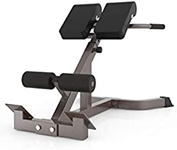 Bench Roman Chair Back Hyperextension, Multi-Functional Bench for Full All-in-One Body Workout, Hyper Back Extension, Adjustable Ab Sit up Strength Training Machines (B)