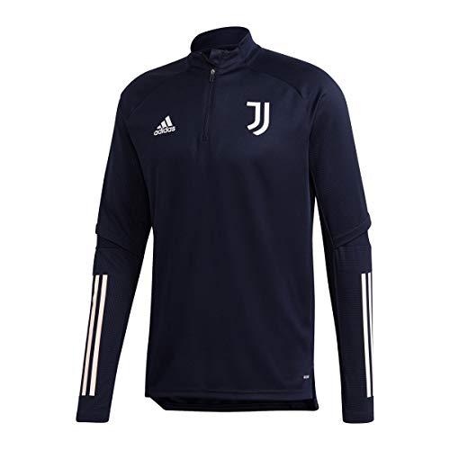 adidas Juventus FC Temporada 2020/21 JUVE TR Top Camiseta Entrenamiento, Unisex, Tinley/Griorb,...