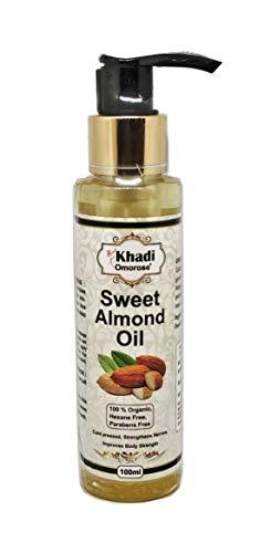 Khadi Omorose Sweet Almond Oil (100 ml) Cold Pressed