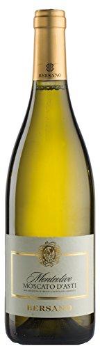 6x 0,75l - 2019er - Bersano - Monteolivo - Moscato d'Asti D.O.C.G. - Piemonte - Italien - Weißwein süß