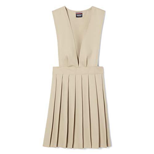 French Toast Mädchen SY9000 Schuluniform, Kleid, Khaki, 4 Jahre