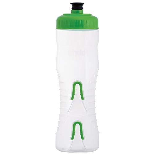 Fabric Trinkflasche Cageless 750 ml, Grün - Transparent, FA-BOT-0002sw