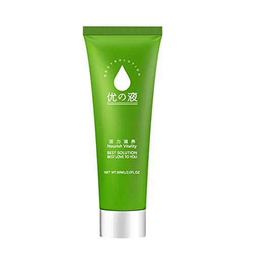 H87yC4ra 60 g de aceite lubricante soluble en agua, aceite de masaje suave sin dolor productos súper suaves para el sexo, líquido lubricante a base de agua para el sexo anal vaginal Green