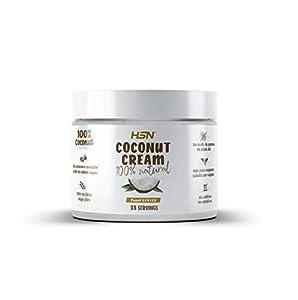 Crema de Coco de HSN   Coconut Cream 100% Natural   Lista para Untar   Sin Aceite de Palma ni Azúcares Añadidos   No-GMO, Vegano, Sin Lactosa   500 gr