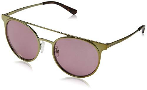 MICHAEL KORS 116884 Gafas de sol, Shiny Pale Gold/Tone, 52 para Mujer