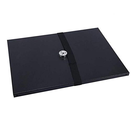 Bandeja para proyector, soporte universal de metal con tornillo de conversión de 1/4 para trípode, proyectores, monitores, ordenadores portátiles, negro