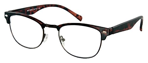 Lesebrille Big Boss-Havanna-Matt-Sph:+1,50