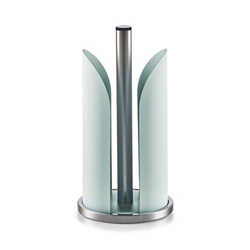 Zeller 27191 Küchenrollenhalter, 15 x 15 x 30,5 cm, mint, Metall