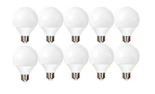 GE Lighting Energy Smart CFL 11-Watt (40-watt replacement) 500-Lumen G25 Light Bulb with Medium Base (10 Bulbs)