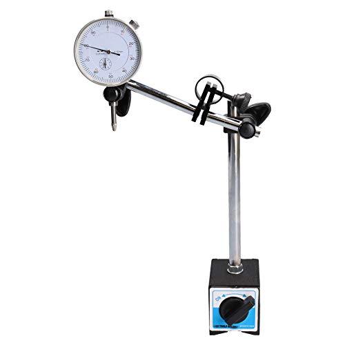 Indicador de prueba de cuadrante calibrador DTI & soporte base magnética reloj...