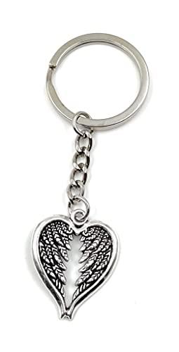 Onwomania - 'Ange d'ailes de Coeur- Porte-Bonheur en métal idéal comme Cadeau, par Exemple pour Le Meilleur ami, Le Meilleur ami, la Maman - pour Hommes, Femmes et Enfants
