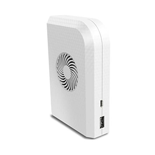 XZJJZ Small Personal Fan with 6000mAh Power Bank Mini Handheld USB Desk Fan with Portable Charger Best Using in Travel School