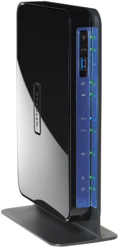 NETGEAR DGND3700-100UKS N600 Dual Band Wireless ADSL2+ Modem Router for Phone Line Connections