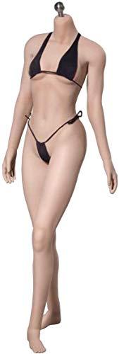 ZSMD Action Figur 1/6 Maßstab Weibliche Nahtlose Körper Figur Puppenkörper mit Edelstahlskelett, PLMB2016-S16A, Kein Kopfbild (S16A)