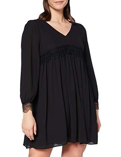 Naf Naf LALOLITA R1 Vestido, Negro, 40 para Mujer