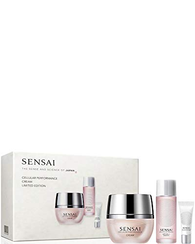 Sensai cellular performance gift box - face cream + eye cream + lotion