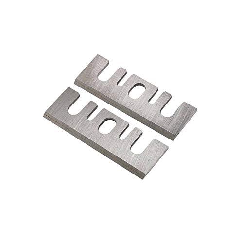 WNJ-TOOL, 2 stücke 82mm Hartmetallhobelklinge 82x29x3mm Reversible Holz Hobelmesser Messer Für Holzbearbeitungsmaschinen Teile F20A