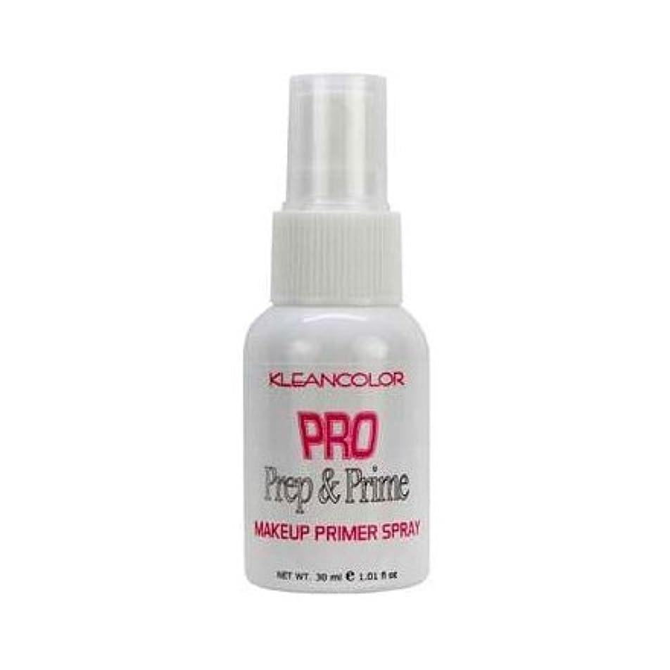 リテラシー札入れ確かに(6 Pack) KLEANCOLOR Pro Prep and Prime - Makeup Primer Spray (並行輸入品)