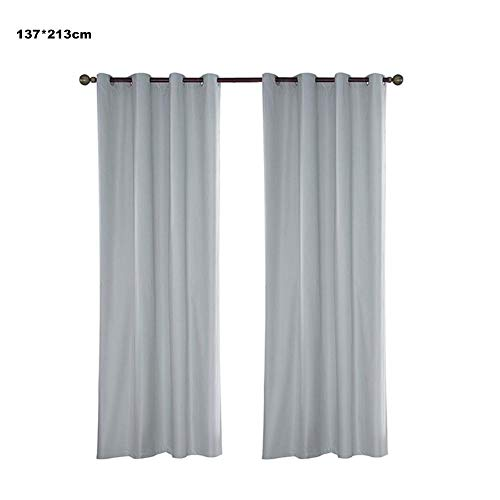 Ardentity Outdoor Curtains Waterproof, Outdoor Curtain Grommet Eyelet, Gazebo Curtains for Front Porch, Pergola, Cabana, Covered Patio, Gazebo, Dock, and Beach Home