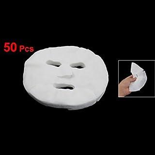 Xigeapg Xigeapg(R)50pcs女性の化粧品拡大コットンフェイシャルマスクシート